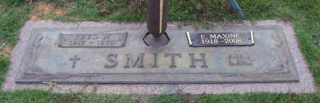 SMITH, FRED W. - Saline County, Arkansas | FRED W. SMITH - Arkansas Gravestone Photos