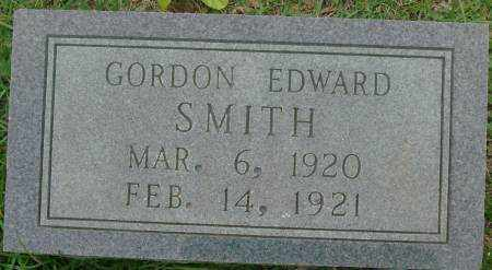 SMITH, GORDON EDWARD - Saline County, Arkansas | GORDON EDWARD SMITH - Arkansas Gravestone Photos