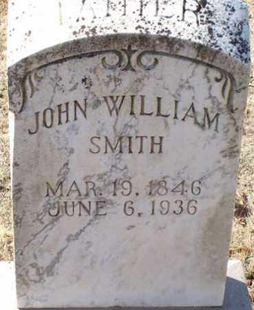 SMITH, JOHN WILLIAM - Saline County, Arkansas | JOHN WILLIAM SMITH - Arkansas Gravestone Photos