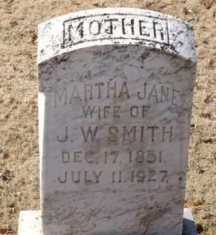 SMITH, MARTHA JANE - Saline County, Arkansas | MARTHA JANE SMITH - Arkansas Gravestone Photos