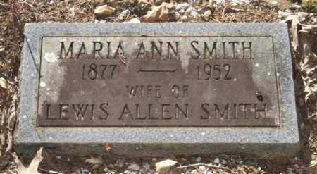 COOPER SMITH, MARIA ANN - Saline County, Arkansas | MARIA ANN COOPER SMITH - Arkansas Gravestone Photos