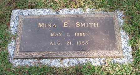 SMITH, MINA E. - Saline County, Arkansas | MINA E. SMITH - Arkansas Gravestone Photos