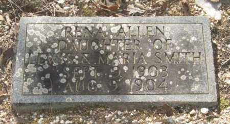 SMITH, RENA ALLEN - Saline County, Arkansas | RENA ALLEN SMITH - Arkansas Gravestone Photos