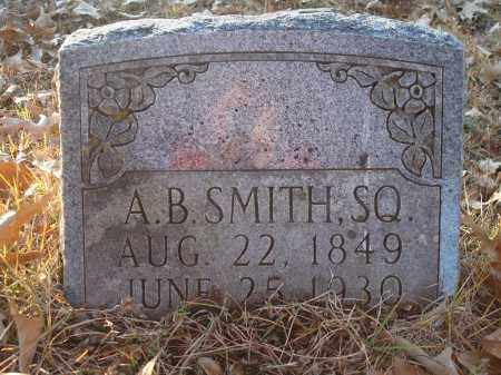 SMITH SQ, AB - Saline County, Arkansas | AB SMITH SQ - Arkansas Gravestone Photos