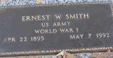SMITH (VETERAN WWI), ERNEST W - Saline County, Arkansas | ERNEST W SMITH (VETERAN WWI) - Arkansas Gravestone Photos