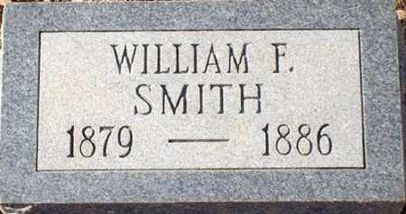 SMITH, WILLIAM F - Saline County, Arkansas | WILLIAM F SMITH - Arkansas Gravestone Photos