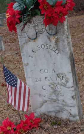 SOSEBEE (VETERAN CSA), E.E. - Saline County, Arkansas | E.E. SOSEBEE (VETERAN CSA) - Arkansas Gravestone Photos