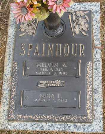 SPAINHOR, MELVIN A. - Saline County, Arkansas | MELVIN A. SPAINHOR - Arkansas Gravestone Photos