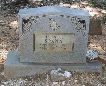 SPANN, HELEN L. - Saline County, Arkansas | HELEN L. SPANN - Arkansas Gravestone Photos