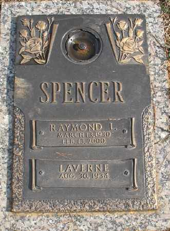 SPENCER, RAYMOND L. - Saline County, Arkansas | RAYMOND L. SPENCER - Arkansas Gravestone Photos