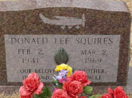 SQUIRES, DONALD LEE - Saline County, Arkansas | DONALD LEE SQUIRES - Arkansas Gravestone Photos