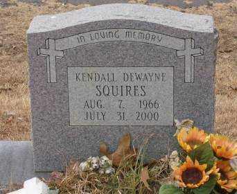 SQUIRES, KENDALL DEWAYNE - Saline County, Arkansas | KENDALL DEWAYNE SQUIRES - Arkansas Gravestone Photos