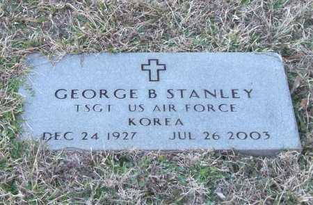 STANLEY (VETERAN KOR), GEORGE B - Saline County, Arkansas | GEORGE B STANLEY (VETERAN KOR) - Arkansas Gravestone Photos