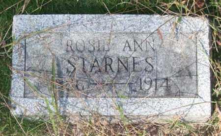 STARNES, ROSIE ANN - Saline County, Arkansas | ROSIE ANN STARNES - Arkansas Gravestone Photos