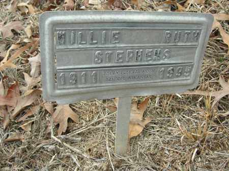 STEPHENS, WILLIE RUTH - Saline County, Arkansas | WILLIE RUTH STEPHENS - Arkansas Gravestone Photos