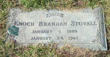 STOVALL, ENOCH BRANNAN - Saline County, Arkansas | ENOCH BRANNAN STOVALL - Arkansas Gravestone Photos