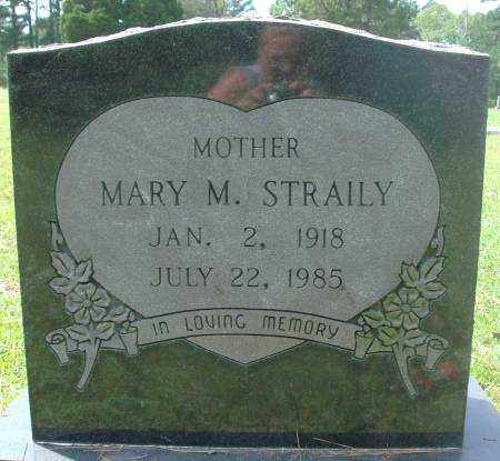 STRAILY, MARY - Saline County, Arkansas | MARY STRAILY - Arkansas Gravestone Photos