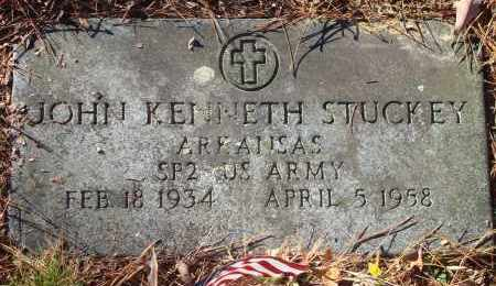 STUCKEY (VETERAN), JOHN KENNETH - Saline County, Arkansas | JOHN KENNETH STUCKEY (VETERAN) - Arkansas Gravestone Photos