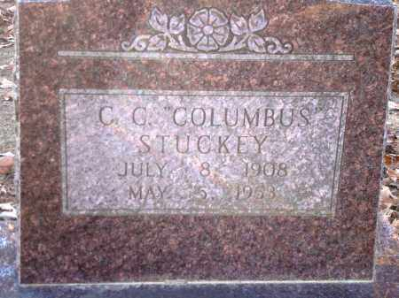 "STUCKEY, CC ""COLUMBUS"" - Saline County, Arkansas 