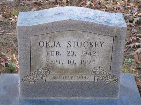 STUCKEY, OKJA - Saline County, Arkansas | OKJA STUCKEY - Arkansas Gravestone Photos