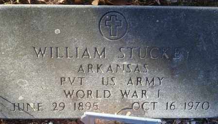 STUCKEY (VETERAN WWI), WILLIAM - Saline County, Arkansas | WILLIAM STUCKEY (VETERAN WWI) - Arkansas Gravestone Photos