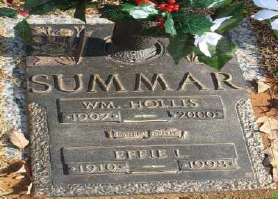 SUMMAR, EFFFI L. - Saline County, Arkansas | EFFFI L. SUMMAR - Arkansas Gravestone Photos