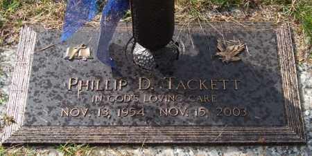 TACKETT, PHILLIP D. - Saline County, Arkansas | PHILLIP D. TACKETT - Arkansas Gravestone Photos