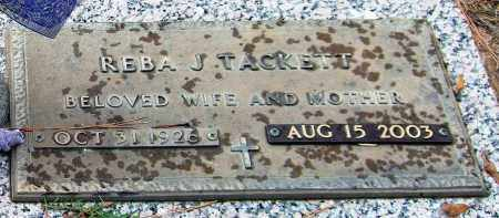 TACKETT, REBA J. - Saline County, Arkansas | REBA J. TACKETT - Arkansas Gravestone Photos