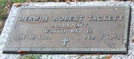 TACKETT (VETERAN WWII), DERWIN ROBERT - Saline County, Arkansas | DERWIN ROBERT TACKETT (VETERAN WWII) - Arkansas Gravestone Photos