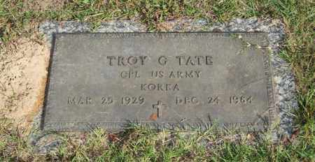 TATE (VETERAN KOR), TROY G - Saline County, Arkansas | TROY G TATE (VETERAN KOR) - Arkansas Gravestone Photos