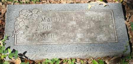 "HALE TAYLOR, MAUDINE D. ""MAUDIE"" - Saline County, Arkansas | MAUDINE D. ""MAUDIE"" HALE TAYLOR - Arkansas Gravestone Photos"