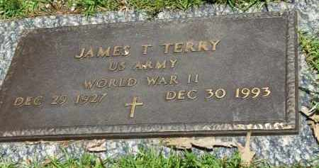 TERRY (VETERAN WWII), JAMES T. - Saline County, Arkansas | JAMES T. TERRY (VETERAN WWII) - Arkansas Gravestone Photos