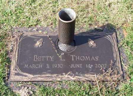 THOMAS, BETTY LOU - Saline County, Arkansas | BETTY LOU THOMAS - Arkansas Gravestone Photos