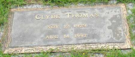 THOMAS, CLYDE - Saline County, Arkansas | CLYDE THOMAS - Arkansas Gravestone Photos