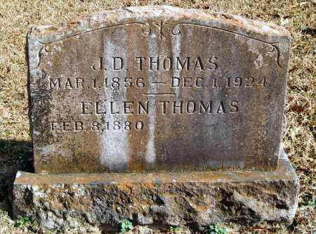 THOMAS, J. D. - Saline County, Arkansas | J. D. THOMAS - Arkansas Gravestone Photos