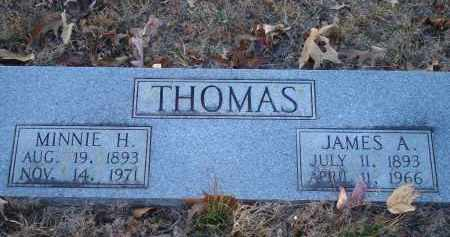 THOMAS, JAMES A - Saline County, Arkansas | JAMES A THOMAS - Arkansas Gravestone Photos