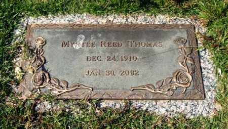 REED THOMAS, MYRTLE - Saline County, Arkansas | MYRTLE REED THOMAS - Arkansas Gravestone Photos
