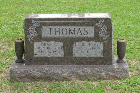 THOMAS, LILLIE M. - Saline County, Arkansas | LILLIE M. THOMAS - Arkansas Gravestone Photos
