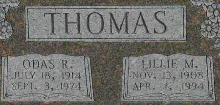 THOMAS, LILLIE M. (CLOSEUP) - Saline County, Arkansas | LILLIE M. (CLOSEUP) THOMAS - Arkansas Gravestone Photos