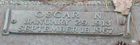 THOMAS, OSCAR N. (CLOSEUP) - Saline County, Arkansas | OSCAR N. (CLOSEUP) THOMAS - Arkansas Gravestone Photos