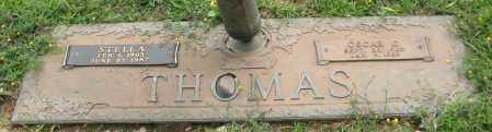 FOWLER THOMAS, STELLA - Saline County, Arkansas | STELLA FOWLER THOMAS - Arkansas Gravestone Photos