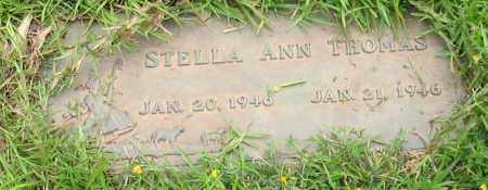 THOMAS, STELLA ANN - Saline County, Arkansas | STELLA ANN THOMAS - Arkansas Gravestone Photos