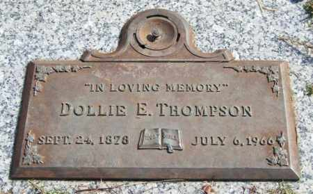 THOMPSON, DOLLIE E. - Saline County, Arkansas | DOLLIE E. THOMPSON - Arkansas Gravestone Photos
