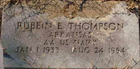 THOMPSON (VETERAN), RUBEIN E - Saline County, Arkansas | RUBEIN E THOMPSON (VETERAN) - Arkansas Gravestone Photos