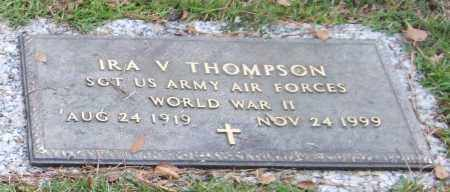 THOMPSON (VETERAN WWII), IRA V - Saline County, Arkansas | IRA V THOMPSON (VETERAN WWII) - Arkansas Gravestone Photos