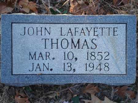 THOMAS, JOHN LAFAYETTE - Saline County, Arkansas | JOHN LAFAYETTE THOMAS - Arkansas Gravestone Photos