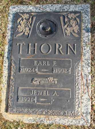 THORN, EARL F. - Saline County, Arkansas | EARL F. THORN - Arkansas Gravestone Photos