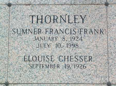 "THORNLEY, SUMNER FRANCIS ""FRANK"" - Saline County, Arkansas 