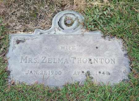 THORNTON, ZELMA - Saline County, Arkansas | ZELMA THORNTON - Arkansas Gravestone Photos