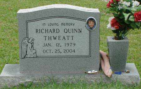 THWEATT, RICHARD QUINN - Saline County, Arkansas | RICHARD QUINN THWEATT - Arkansas Gravestone Photos